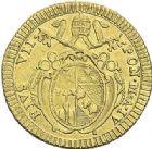 Photo numismatique  ARCHIVES VENTE 2012 MONNAIES DU MONDE ITALIE SAINT-SIEGE, Pie VII (1799-1823) 785- Doppia d'or, frappée à Rome en 1803.
