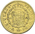 Photo numismatique  ARCHIVES VENTE 2012 MONNAIES DU MONDE ESPAGNE CHARLES IV (1788-1808) 783- 1 scudo d'or, frappé à Mexico en 1797.