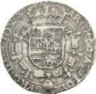 Photo numismatique  ARCHIVES VENTE 2012 MONNAIES DU MONDE BELGIQUE PHILIPPE IV roi d'Espagne (1621-1665) 779- Patagon, frappé à Tournai en 1634.