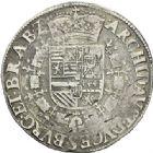 Photo numismatique  ARCHIVES VENTE 2012 MONNAIES DU MONDE BELGIQUE BRABANT, Albert et Isabelle archiducs (1598-1621) 778- Patagon non daté, frappé à Anvers.