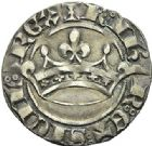 Photo numismatique  ARCHIVES VENTE 2012 BARONNIALES Comté de PROVENCE ROBERT d'ANJOU (1309-1343) 773- Provençal coronat, créé en 1337.