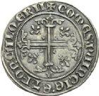 Photo numismatique  ARCHIVES VENTE 2012 BARONNIALES Comté de PROVENCE ROBERT d'ANJOU (1309-1343) 771- Carlin frappé à Avignon ou Saint-Rémy.