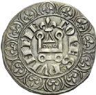 Photo numismatique  ARCHIVES VENTE 2012 BARONNIALES Comté de PROVENCE CHARLES Ier d'ANJOU (1246-1285) 769- Gros tournois d'Avignon, frappé en 1267.