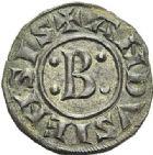 Photo numismatique  ARCHIVES VENTE 2012 BARONNIALES Seigneuries d'ANDUSE et de SAUVE BERTRAND l'Aîné (XIIe siècle) 759- Denier.