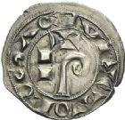 Photo numismatique  ARCHIVES VENTE 2012 BARONNIALES Comté de TOULOUSE RAYMOND V à RAYMOND VII (1148-1194-1222-1249) 742- *Denier et oboles (2).