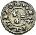 Photo numismatique  ARCHIVES VENTE 2012 BARONNIALES Comté de TOULOUSE PONS et le roi HENRI Ier (1037-1060) 737- Denier frappé à partir de 1037.