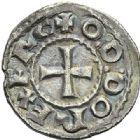 Photo numismatique  ARCHIVES VENTE 2012 BARONNIALES Comté de TOULOUSE (Xe siècle) 735- Denier imitant le monnayage d'Eudes.