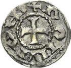 Photo numismatique  ARCHIVES VENTE 2012 BARONNIALES Vicomté d'ALBI ANONYMES (XIe siècle) 732- Au nom de RAIMOND. Denier.