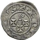 Photo numismatique  ARCHIVES VENTE 2012 BARONNIALES Evêché de CAHORS (Fin du XIIIe - début du XIVe siècle) 729- Obole.