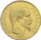 Photo numismatique  ARCHIVES VENTE 2012 MODERNES FRANÇAISES NAPOLEON III, empereur (2 décembre 1852-1er septembre 1870)  721- 50 francs or, Paris 1857.