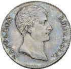 Photo numismatique  ARCHIVES VENTE 2012 MODERNES FRANÇAISES NAPOLEON Ier, empereur (18 mai 1804- 6 avril 1814)  716- 5 francs, Paris an 12.