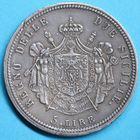 Photo numismatique  MONNAIES MODERNES FRANÇAISES JOACHIM MURAT, roi de Naples et des Deux-Siciles (1808-1815)  5 lire.
