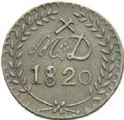 Photo numismatique  MONNAIES MODERNES FRANÇAISES LOUIS XVIII, 2e restauration (8 juillet 1815-16 septembre 1824) Monnaie de nécessité des mines d'Anzin 30 sols.