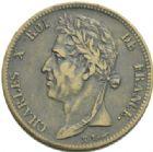 Photo numismatique  MONNAIES MODERNES FRANÇAISES CHARLES X (16 septembre 1824-2 août 1830)  5 centimes pour la Guyane.
