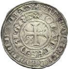 Photo numismatique  ARCHIVES VENTE 2012 ROYALES FRANCAISES JEAN II LE BON (22 août 1350-18 avril 1364)  495- Gros blanc à la couronne (26 mars 1357).