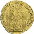 Photo numismatique  ARCHIVES VENTE 2012 ROYALES FRANCAISES JEAN II LE BON (22 août 1350-18 avril 1364)  490- Royal d'or de la 2ème émission (15 avril 1359).
