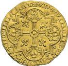 Photo numismatique  ARCHIVES VENTE 2012 ROYALES FRANCAISES JEAN II LE BON (22 août 1350-18 avril 1364)  489- Mouton d'or (17 janvier 1355).