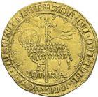 Photo numismatique  ARCHIVES VENTE 2012 ROYALES FRANCAISES JEAN II LE BON (22 août 1350-18 avril 1364)  488- Mouton d'or (17 janvier 1355).
