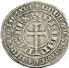 Photo numismatique  ARCHIVES VENTE 2012 ROYALES FRANCAISES PHILIPPE VI DE VALOIS(1er avril 1328-22 août 1350)  485- Gros à la queue (27 septembre 1348 et 15 janvier 1349).