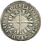 Photo numismatique  ARCHIVES VENTE 2012 ROYALES FRANCAISES PHILIPPE VI DE VALOIS(1er avril 1328-22 août 1350)  484- Gros à la couronne de la 1ère émission (1er janvier 1337).