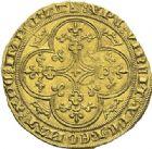 Photo numismatique  ARCHIVES VENTE 2012 ROYALES FRANCAISES PHILIPPE VI DE VALOIS(1er avril 1328-22 août 1350)  483- Chaise d'or (17 juillet 1346).