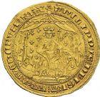 Photo numismatique  ARCHIVES VENTE 2012 ROYALES FRANCAISES PHILIPPE VI DE VALOIS(1er avril 1328-22 août 1350)  479- Pavillon d'or (8 juin 1339).