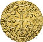 Photo numismatique  ARCHIVES VENTE 2012 ROYALES FRANCAISES PHILIPPE VI DE VALOIS(1er avril 1328-22 août 1350)  478- Lion d'or (31 octobre 1338).