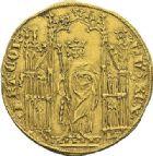 Photo numismatique  ARCHIVES VENTE 2012 ROYALES FRANCAISES PHILIPPE VI DE VALOIS(1er avril 1328-22 août 1350)  475- Royal d'or (2 mai 1328).