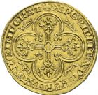 Photo numismatique  ARCHIVES VENTE 2012 ROYALES FRANCAISES CHARLES IV LE BEL (3 janvier 1322–1er février 1328)  473- Royal d'or (16 février 1326).