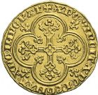 Photo numismatique  ARCHIVES VENTE 2012 ROYALES FRANCAISES PHILIPPE IV LE BEL (5 octobre 1285-30 novembre 1314)  466- Agnel d'or (26 janvier 1311).