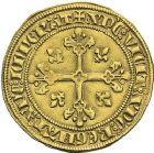 Photo numismatique  ARCHIVES VENTE 2012 ROYALES FRANCAISES PHILIPPE IV LE BEL (5 octobre 1285-30 novembre 1314)  465- Florin d'or dit « à la Reine » (1305).