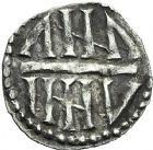Photo numismatique  ARCHIVES VENTE 2012 CAROLINGIENS CHARLEMAGNE, roi (768-800) empereur (800-814)  452-  Denier du 1er type, frappé à Namur avant 794.