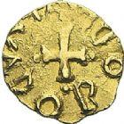 Photo numismatique  ARCHIVES VENTE 2012 PEUPLES BARBARES MEROVINGIENS CITES DOSE(T)AM 451- Triens au nom du monétaire Audobodus.