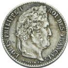 Photo numismatique  MONNAIES MODERNES FRANÇAISES LOUIS-PHILIPPE Ier (9 août 1830-24 février 1848)  1/4 de franc.