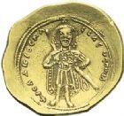 Photo numismatique  ARCHIVES VENTE 2012 EMPIRE BYZANTIN ISAAC Ier COMNENE (1057-1059)  435- Nomisma histaménon, frappé à Constantinople.