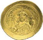 Photo numismatique  ARCHIVES VENTE 2012 EMPIRE BYZANTIN CONSTANTIN IX MONOMAQUE (1042-1055)  434- Nomisma histaménon, frappé à Constantinople.