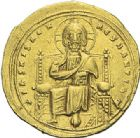 Photo numismatique  ARCHIVES VENTE 2012 EMPIRE BYZANTIN ROMAIN III ARGYRE (1028-1034)  432- Nomisma histaménon, frappé à Constantinople.