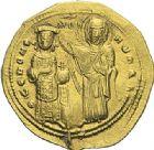 Photo numismatique  ARCHIVES VENTE 2012 EMPIRE BYZANTIN ROMAIN III ARGYRE (1028-1034)  431- Nomisma histaménon, frappé à Constantinople.