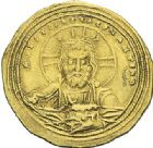 Photo numismatique  ARCHIVES VENTE 2012 EMPIRE BYZANTIN CONSTANTIN VIII (1025-1028)  430- Nomisma histaménon, frappé à Constantinople.