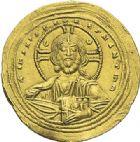 Photo numismatique  ARCHIVES VENTE 2012 EMPIRE BYZANTIN CONSTANTIN VIII (1025-1028)  429- Nomisma histaménon, frappé à Constantinople.