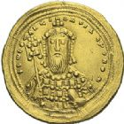 Photo numismatique  ARCHIVES VENTE 2012 EMPIRE BYZANTIN CONSTANTIN VIII (1025-1028)  429- Nomisma histaménon, frappé à Constantinople.