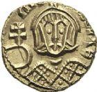 Photo numismatique  ARCHIVES VENTE 2012 EMPIRE BYZANTIN MICHEL III seul (842-867)  422- Semissis, frappé à Syracuse.