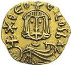 Photo numismatique  ARCHIVES VENTE 2012 EMPIRE BYZANTIN THEOPHILE (829-842)  421- Tremissis, frappé à Syracuse.