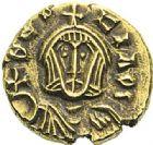 Photo numismatique  ARCHIVES VENTE 2012 EMPIRE BYZANTIN THEOPHILE (829-842)  420- Semissis, frappé à Syracuse.