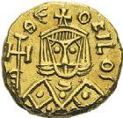 Photo numismatique  ARCHIVES VENTE 2012 EMPIRE BYZANTIN THEOPHILE (829-842)  419- Solidus, frappé à Syracuse.