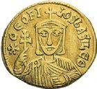Photo numismatique  ARCHIVES VENTE 2012 EMPIRE BYZANTIN THEOPHILE, CONSTANTIN et MICHEL III (840-842)  418- Solidus, frappé à Constantinople en 829/835.