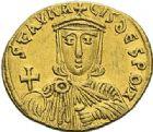 Photo numismatique  ARCHIVES VENTE 2012 EMPIRE BYZANTIN NICEPHORE Ier et STAURACION (803-811)  416- Solidus, frappé à Constantinople en 803/811.