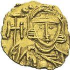 Photo numismatique  ARCHIVES VENTE 2012 EMPIRE BYZANTIN LEON III et CONSTANTIN V (720-741)  414- Triens, frappé à Syracuse en 720/741.