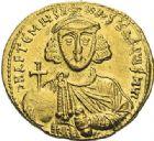 Photo numismatique  ARCHIVES VENTE 2012 EMPIRE BYZANTIN ANASTASE II ARTEMIUS (713-715)  413- Solidus, frappé à Constantinople.