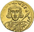 Photo numismatique  ARCHIVES VENTE 2012 EMPIRE BYZANTIN TIBERE III APSIMAR (698-705)  410- Solidus, frappé à Constantinople.